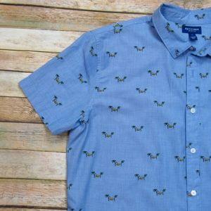 Arizona Men's Casual Button Down Shirt XL